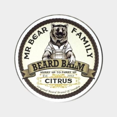 balsamo barba bear family