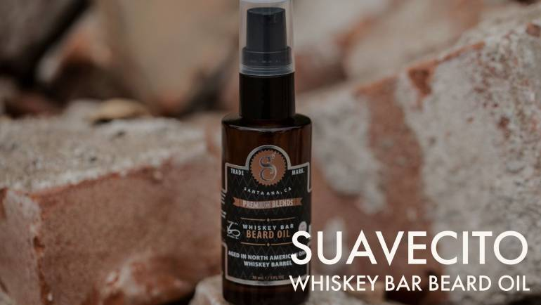 Aceite para barba Suavecito Whiskey Bar Beard Oil