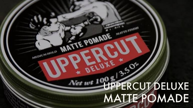 Review de Uppercut Deluxe Matte Pomade