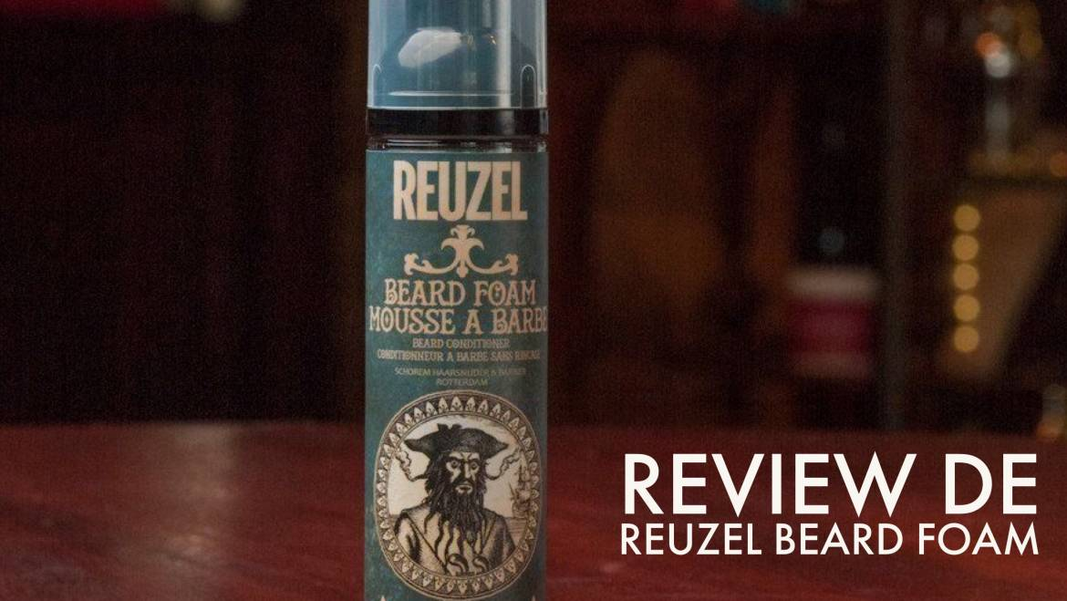 Review de Reuzel Beard Foam