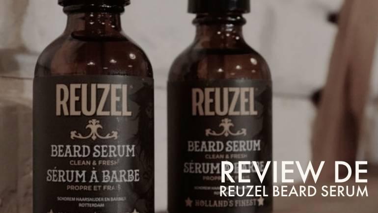 Review de Reuzel Beard Serum